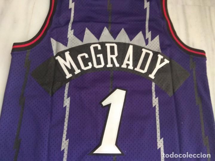 Coleccionismo deportivo: CAMISETA NBA RAPTORS MC GRADY - Foto 3 - 161120062