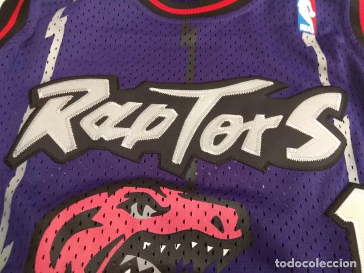 Coleccionismo deportivo: CAMISETA NBA RAPTORS MC GRADY - Foto 7 - 161120062