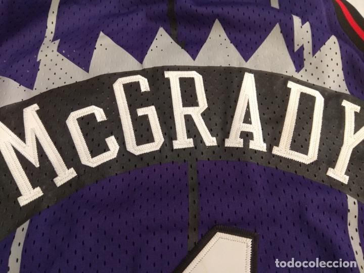 Coleccionismo deportivo: CAMISETA NBA RAPTORS MC GRADY - Foto 8 - 161120062