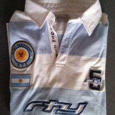 Coleccionismo deportivo: SUDADERA CAMISETA RUGBY SELECCIÓN ARGENTINA. Lote 161491706