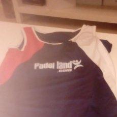 Coleccionismo deportivo: G-FUE18G CAMISETA DE MANGA CORTAS DE PADEL LAND.COM NO APARECE TALLA PERO UNA L MAS O MENOS. Lote 162313950