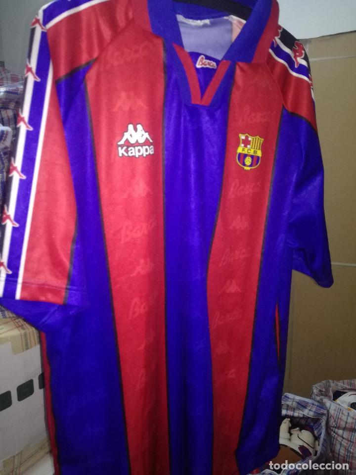 the best attitude cdcd3 30cbb FC BARCELONA replica XL football shirt camiseta shirt