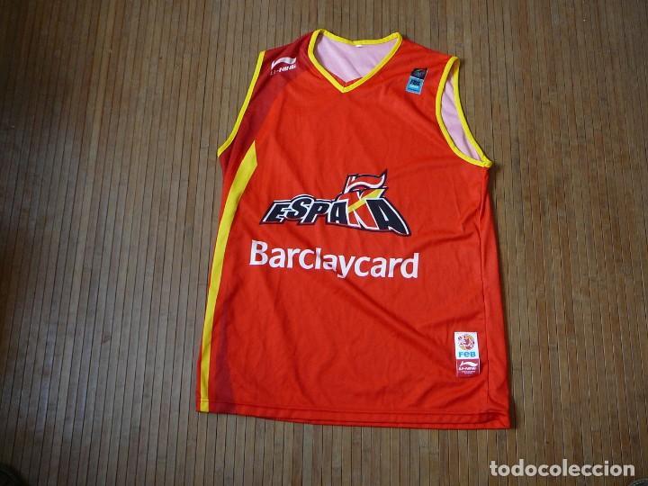 camiseta de baloncesto selección española campe - Comprar ...