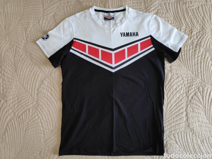 YAMAHA. CAMISETA ELASTICA TALLA L (Coleccionismo Deportivo - Ropa y Complementos - Camisetas otros Deportes)