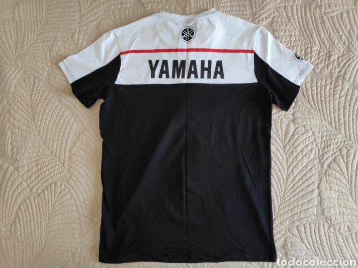 Coleccionismo deportivo: Yamaha. Camiseta elastica talla L - Foto 2 - 167213685