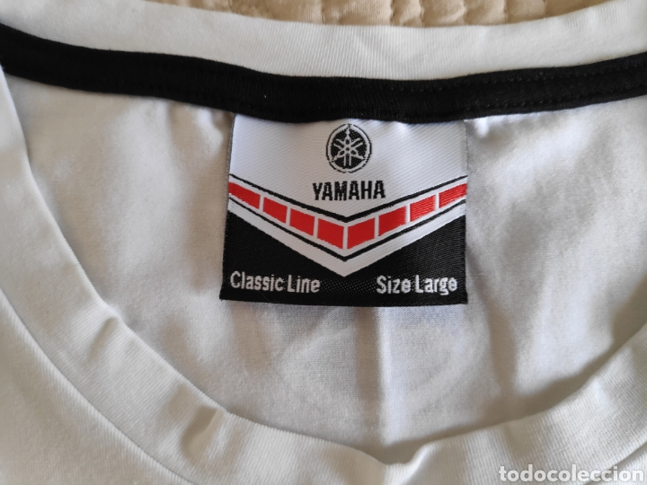 Coleccionismo deportivo: Yamaha. Camiseta elastica talla L - Foto 3 - 167213685