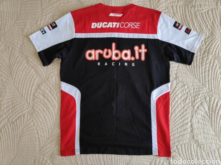 Coleccionismo deportivo: Ducati corse. Camiseta equipo SBK superbikes - Foto 2 - 167214686