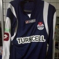 Coleccionismo deportivo: TURKY KASIMPASA MATCH WORN FOOTBALL SHIRT L CAMISETA SHIRT . Lote 168031236