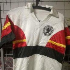 Coleccionismo deportivo: ALEMANIA GERMANY DEUTSCHLAND TRIKOT VINTA 1980 MATCH WORN SECTION XL CAMISETA FUTBOL FOOTBALL SHIRT. Lote 168048288