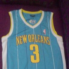 Coleccionismo deportivo: CAMISETA NBA BALONCESTO PAUL N°3 NEW ORLEANS (HORNETS). Lote 168098628