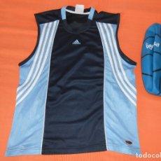 Coleccionismo deportivo: CAMISETA ADIDAS BASKET + PELOTA DE BALONCESTO. Lote 169833936