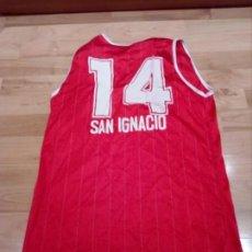 Coleccionismo deportivo: CAMISETA VINTAGE CB SAN IGNACIO AÑOS 1970/1980. Lote 172089693