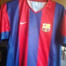 Coleccionismo deportivo: LUIS ENRIQUE FC BARCELONA SIGNED XXS CAMISETA FUTBOL FOOTBALL SHIRT. Lote 173070808