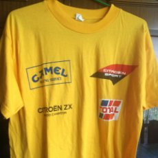 Coleccionismo deportivo: CAMEL RALLY CHAMPION VINTAGE SHIRT CAMISETA M . Lote 173074518