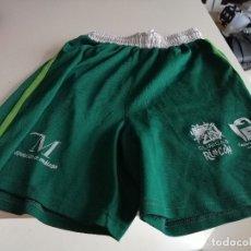 Coleccionismo deportivo: C-TINO19 PANTALO DE DEPORTES CORTO VERDE MALAGA TALLA S VERDE MARCA VIVE. Lote 176635178