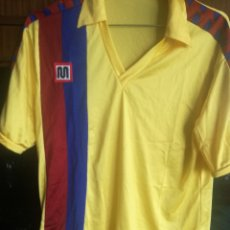 Coleccionismo deportivo: FC BARCELONA VINTAGE MEYBA S 1986 CAMISETA FUTBOL FOOTBALL SHIRT . Lote 178752365