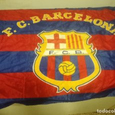 Collectionnisme sportif: FC BARCELONA VINTAGE BANDERA FLAG BUFANDA SCARF FUTBOL FOOTBALL. Lote 178969212