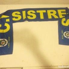 Collectionnisme sportif: CE SISTRELLS FLAG BANDERA BUFANDA SCARF FOOTBALL FUTBOL. Lote 178971581