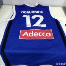 Coleccionismo deportivo: ANTIGUA CAMISETA DE BALONCESTO ESTUDIANTES VIDAURRETA. Lote 181760046