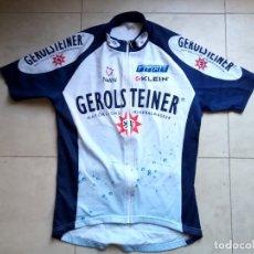 Coleccionismo deportivo: MAILLOT CICLISMO GEROLSTEINER 2002. REBELLIN, UWE PESCHEL, MICHAEL RICH. 48 CMS AXILAS. Lote 183460226