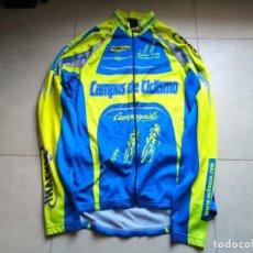 Coleccionismo deportivo: MAILLOT CICLISMO CAMPUS EDUARDO CHOZAS. TALLA XXL. Lote 183540456