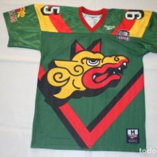 Coleccionismo deportivo: WLAF BARCELONA DRAGONS WORLD LEAGUE 1995 , REEBOK SIZE M, EUROPE NFL. Lote 183897060