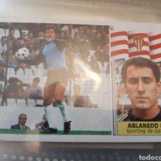 Coleccionismo deportivo: EDICIONES ESTE 86 87 1986 1987 SPORTING GIJON. Lote 183910440