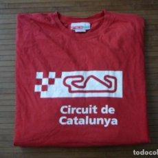 Coleccionismo deportivo: CAMISETA XXL CIRCUIT DE CATALUNYA T SHIRT MOTOCICLISMO FÓRMULA 1 BARCELONA CIRCUITO DE MONTMELÓ . Lote 183954460