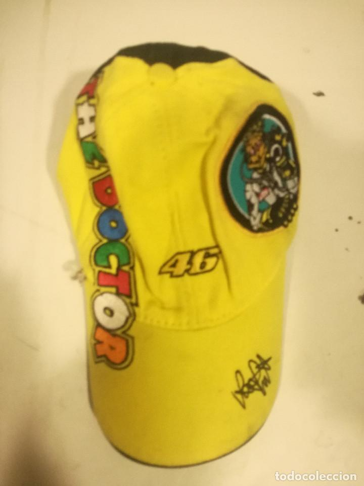 VALENTINO ROSSI MOTOGP CAP GORRA RACING MOTOGP MOTO TEAM RALLY SPORT F1 (Coleccionismo Deportivo - Ropa y Complementos - Camisetas otros Deportes)
