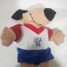 Coleccionismo deportivo: USA 1994 WORLD CUP VINTAGE MASCOTA FUTBOL CAP GORRA . Lote 186155521