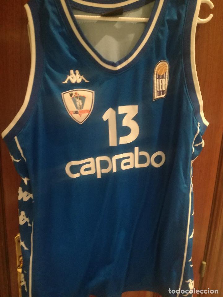 CAPRABO LLEIDA MATCH WORN BASKET BASQUET CAMISETA SHIRT 3XL (Coleccionismo Deportivo - Ropa y Complementos - Camisetas otros Deportes)