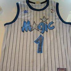 Coleccionismo deportivo: CAMISETA DE BALONCESTO BASKET NBA. JUGADOR Nº 1 TRACY MCGRADY. ORLANDO MAGIC ADIDAS TALLA M. 280GR. Lote 190131440