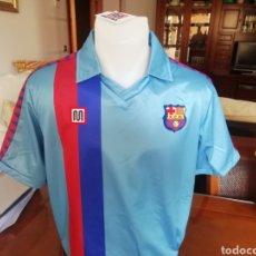 Coleccionismo deportivo: FC BARCELONA. TRILOGÍA DE LOS 80. AZUL, AMARILLA Y ROJA. LOTE UNICO.. Lote 189899536
