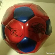 Coleccionismo deportivo: FC BARCELONA BALL SIGNED DREAM TEAM PELOTA BUFANDA SCARF FUTBOL FOOTBALL. Lote 191613310