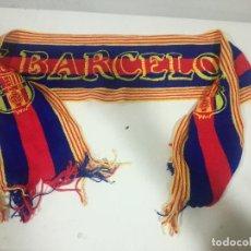 Coleccionismo deportivo: FC BARCELONA VINTAGE SCARF BUFANDA FOOTBALL FUTBOL SCIARPA. Lote 191630857