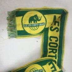 Coleccionismo deportivo: AE LES CORTS SCARF BUFANDA FOOTBALL FUTBOL SCIARPA. Lote 191632356