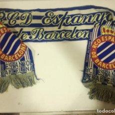 Coleccionismo deportivo: RCD ESPANYOL SCARF BUFANDA FOOTBALL FUTBOL SCIARPA. Lote 191632447