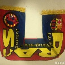 Coleccionismo deportivo: FC BARCELONA DRACS ULTRAS FANS BUFANDA SCARF FOOTBALL FUTBOL. Lote 191635723