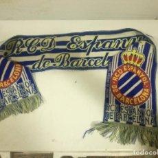 Coleccionismo deportivo: RCD ESPANYOL BUFANDA SCARF FOOTBALL FUTBOL. Lote 191635908