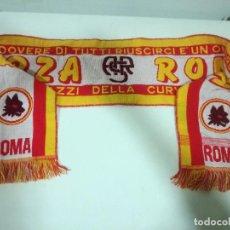 Coleccionismo deportivo: AS ROMA SCARF BUFANDA FOOTBALL FUTBOL SCIARPA. Lote 191636937