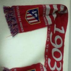 Coleccionismo deportivo: ATLETICO MADRID SCARF BUFANDA FOOTBALL FUTBOL SCIARPA. Lote 191637092