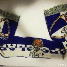 Coleccionismo deportivo: UD CLARET LLOPS FANS BASKET SCARF BUFANDA FOOTBALL FUTBOL SCIARPA. Lote 191637872