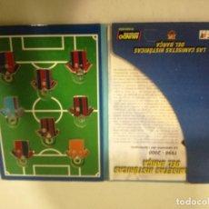 Coleccionismo deportivo: LLAVEROS FC BARCELONA COLECCION CAMISETAS MEYBA KEYCHAIN FOOTBALL FUTBOL . Lote 191638315