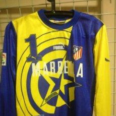 Colecionismo desportivo: MOLINA ATLETICO MADRID GOALKEEPER PORTERO AGE 12 CAMISETA FUTBOL FOOTBALL SHIRT FUSSBALL TRIKOT. Lote 191798151