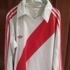 Coleccionismo deportivo: RIVER PLATE ARGENTINA VINTAGE ADIDAS L CAMISETA FUTBOL FOOTBALL SHIRT . Lote 194585521