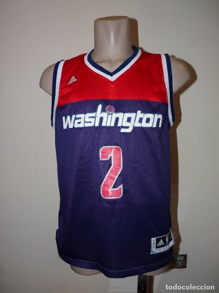 CAMISETA BALONCESTO WASHINGTON WIZARDS ADIDAS (Coleccionismo Deportivo - Ropa y Complementos - Camisetas otros Deportes)