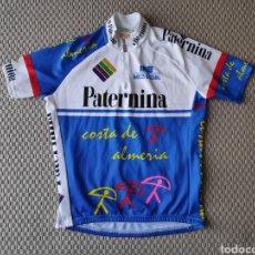 Coleccionismo deportivo: MAILLOT CICLISMO EQUIPO PATERNINA. TEMPORADA 2004. TALLA 5. Lote 194995980