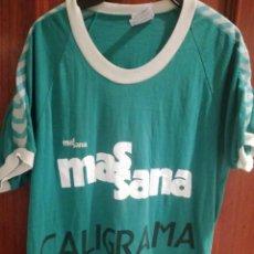 Coleccionismo deportivo: MASSANA VINTAGE RETRO 1970 L CALIGRAMA BARCELONA CAMISETA FUTBOL FOOTBALL SHIRT . Lote 196632942