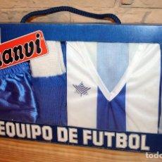 Coleccionismo deportivo: ANTIGUA EQUIPACION JUGADOR FUTBOL DEL RCD ESPAÑOL - DE LUANVI - TALLA 3 NIÑO - AÑOS 80. Lote 198031365