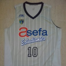 Coleccionismo deportivo: CAMISETA BALONCESTO ESTUDIANTES BASKET ACB. Lote 198327191